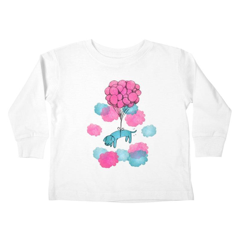 Flying away Kids Toddler Longsleeve T-Shirt by JMK's Artist Shop