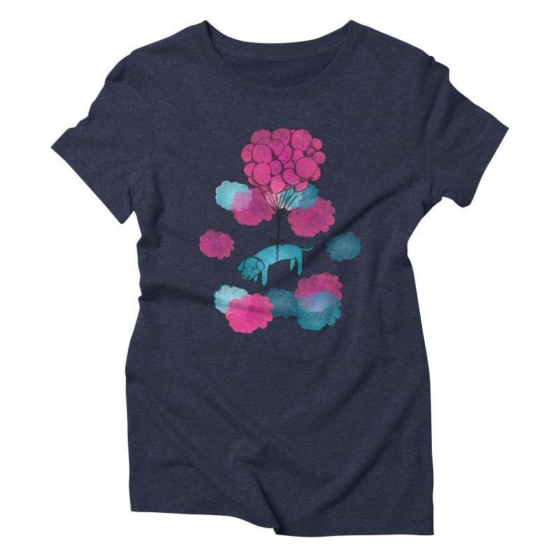 Flying away Women's Triblend T-Shirt by JMK's Artist Shop