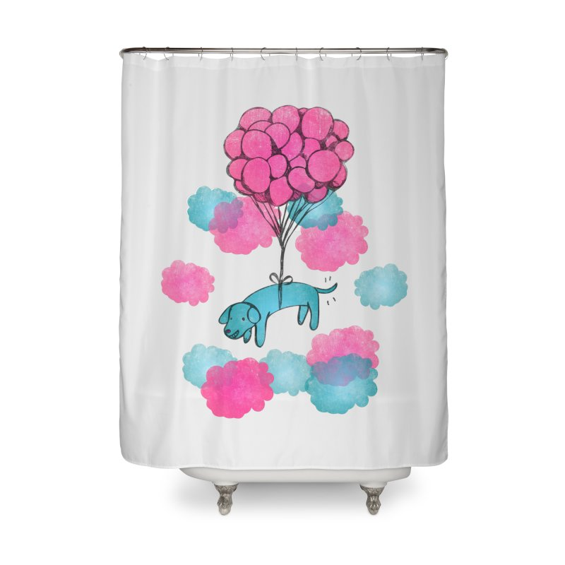 Flying away Home Shower Curtain by JMK's Artist Shop