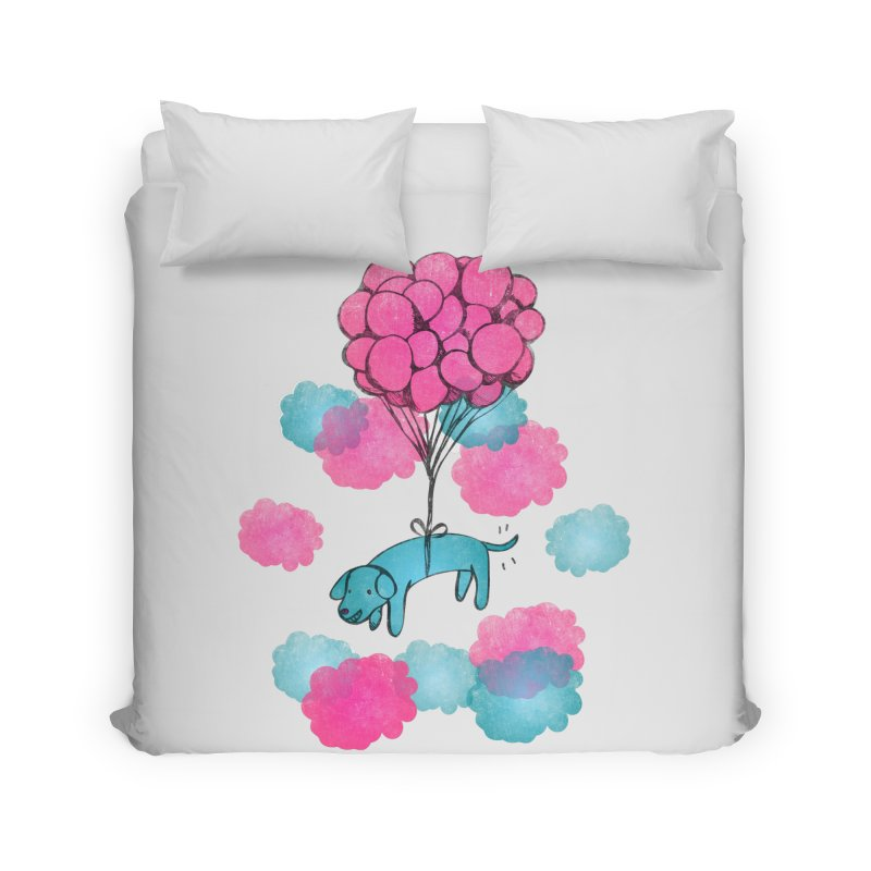 Flying away Home Duvet by JMK's Artist Shop