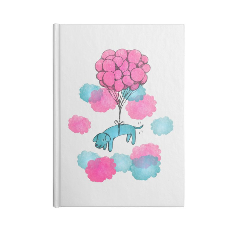 Flying away Accessories Notebook by JMK's Artist Shop