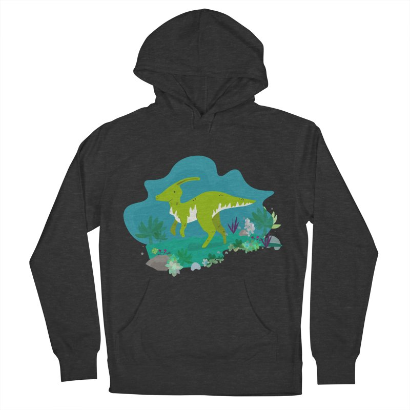 Dino run Women's Pullover Hoody by JMK's Artist Shop