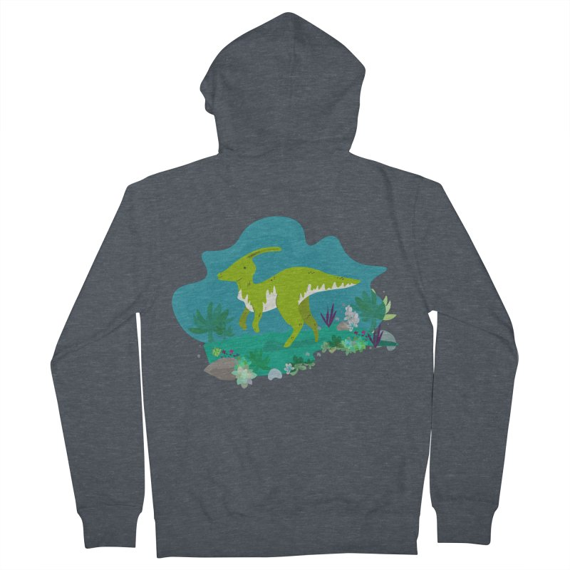 Dino run Women's Zip-Up Hoody by JMK's Artist Shop