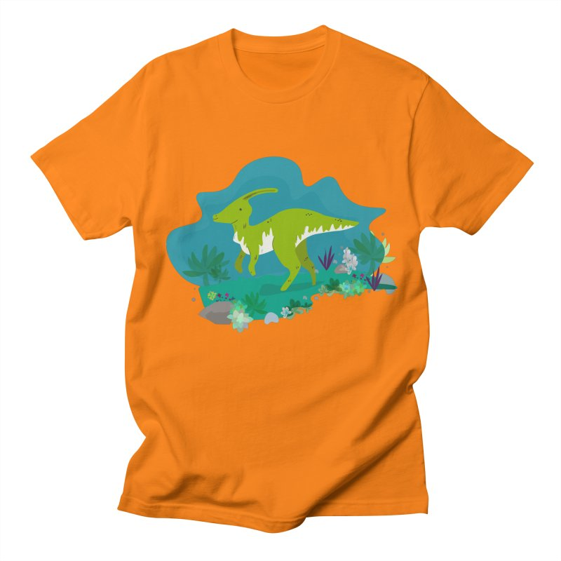 Dino run Women's Unisex T-Shirt by JMK's Artist Shop