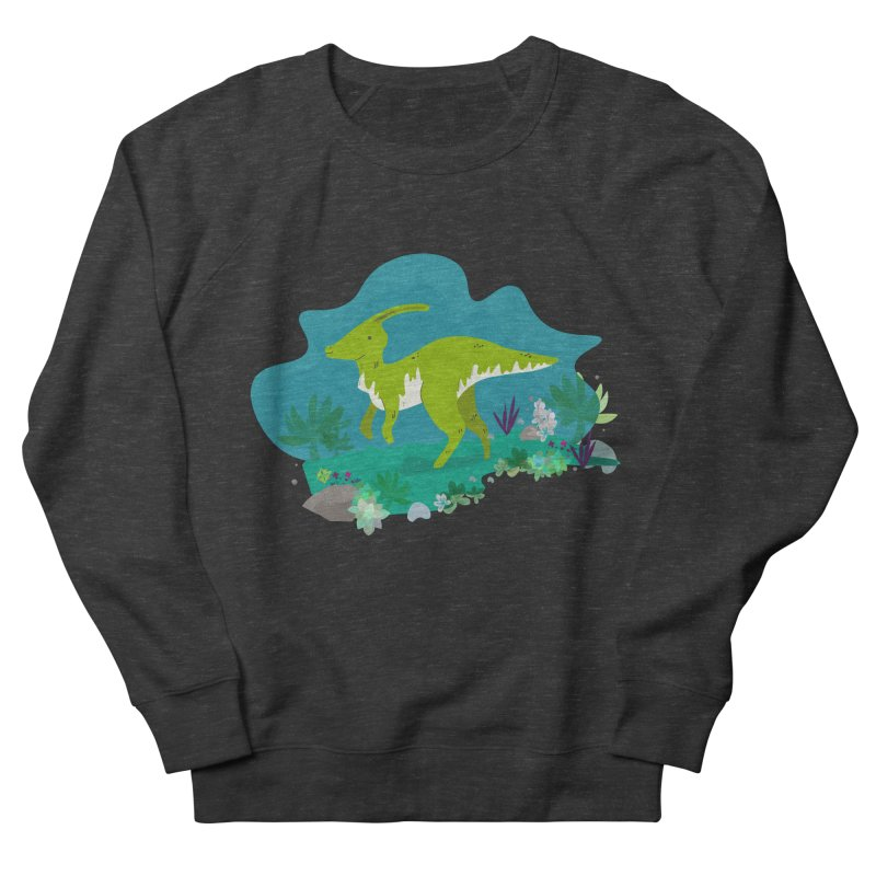 Dino run Women's Sweatshirt by JMK's Artist Shop