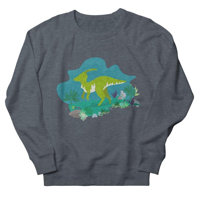 Dino run Men's Sweatshirt by JMK's Artist Shop