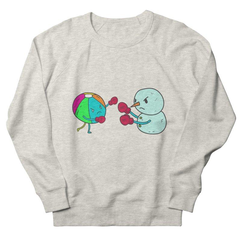 Summer v winter Men's Sweatshirt by JMK's Artist Shop