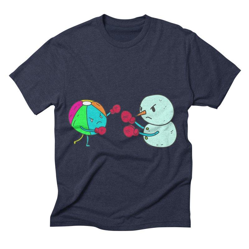 Summer v winter Men's Triblend T-shirt by JMK's Artist Shop