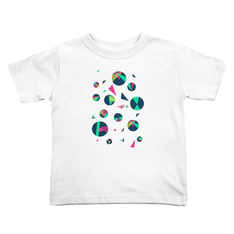 Circle Me Kids Toddler T-Shirt by JMK's Artist Shop