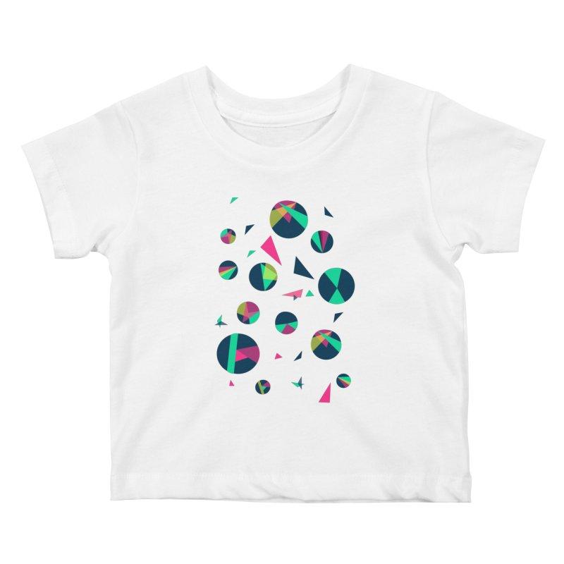 Circle Me Kids Baby T-Shirt by JMK's Artist Shop
