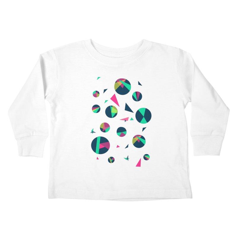 Circle Me Kids Toddler Longsleeve T-Shirt by JMK's Artist Shop