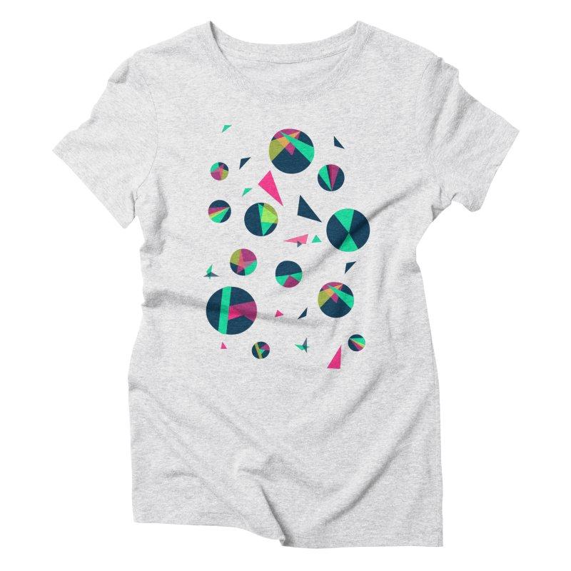 Circle Me Women's Triblend T-shirt by JMK's Artist Shop