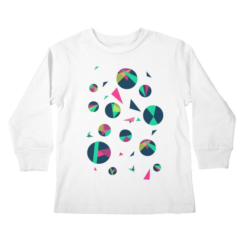 Circle Me Kids Longsleeve T-Shirt by JMK's Artist Shop