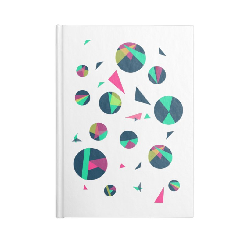 Circle Me Accessories Notebook by JMK's Artist Shop
