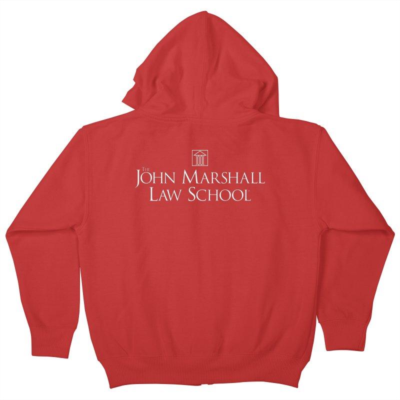 JMLS Logo Kids Zip-Up Hoody by John Marshall Law School