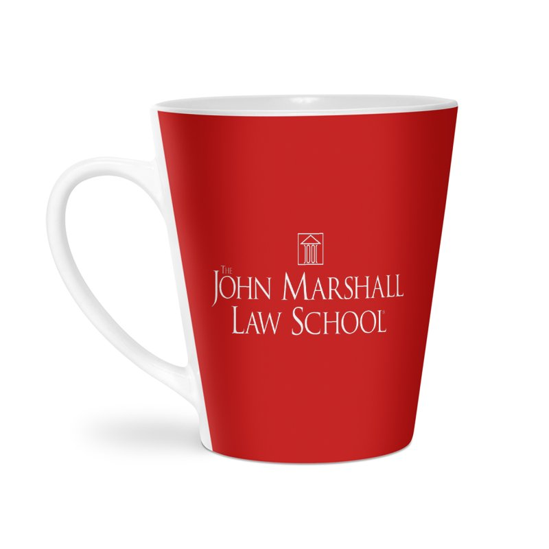 JMLS Logo Accessories Latte Mug by John Marshall Law School