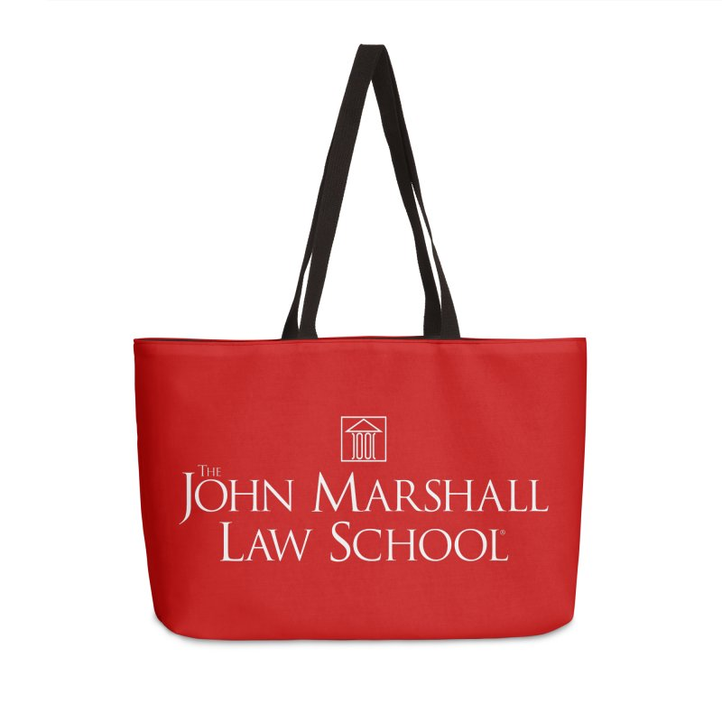 JMLS Logo in Weekender Bag by John Marshall Law School