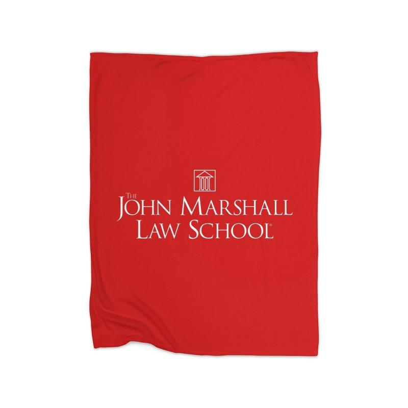 JMLS Logo Home Blanket by John Marshall Law School