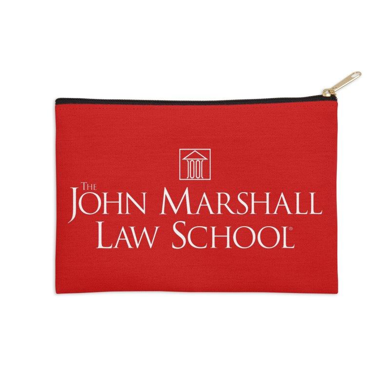 JMLS Logo Accessories Zip Pouch by John Marshall Law School