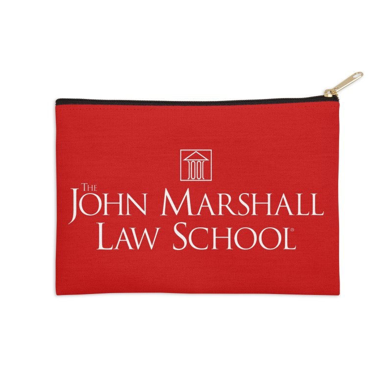 JMLS Logo Accessories Zip Pouch by John Marshall Law School