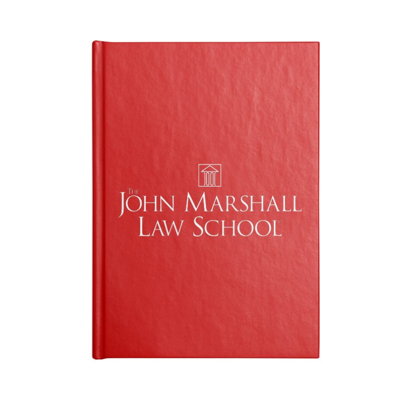 JMLS Logo Accessories Blank Journal Notebook by John Marshall Law School