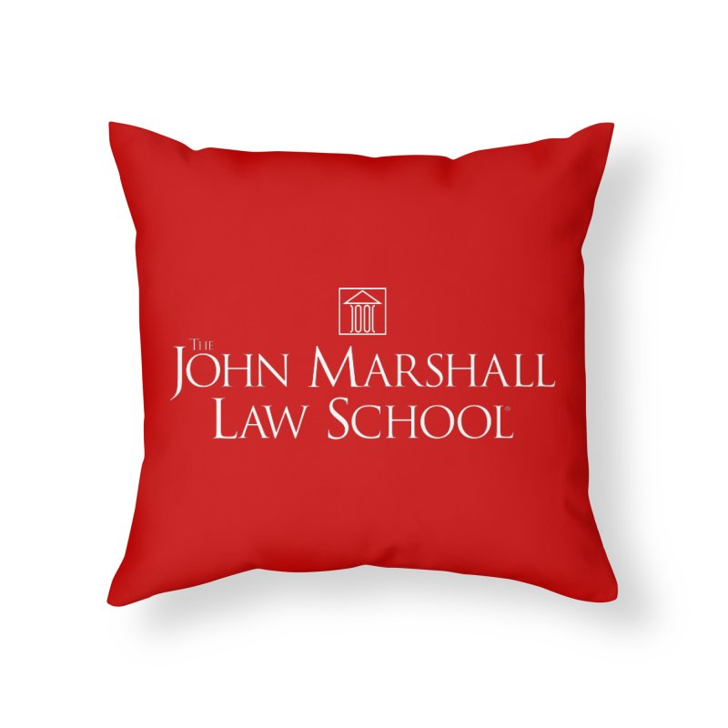 JMLS Logo Home Throw Pillow by John Marshall Law School