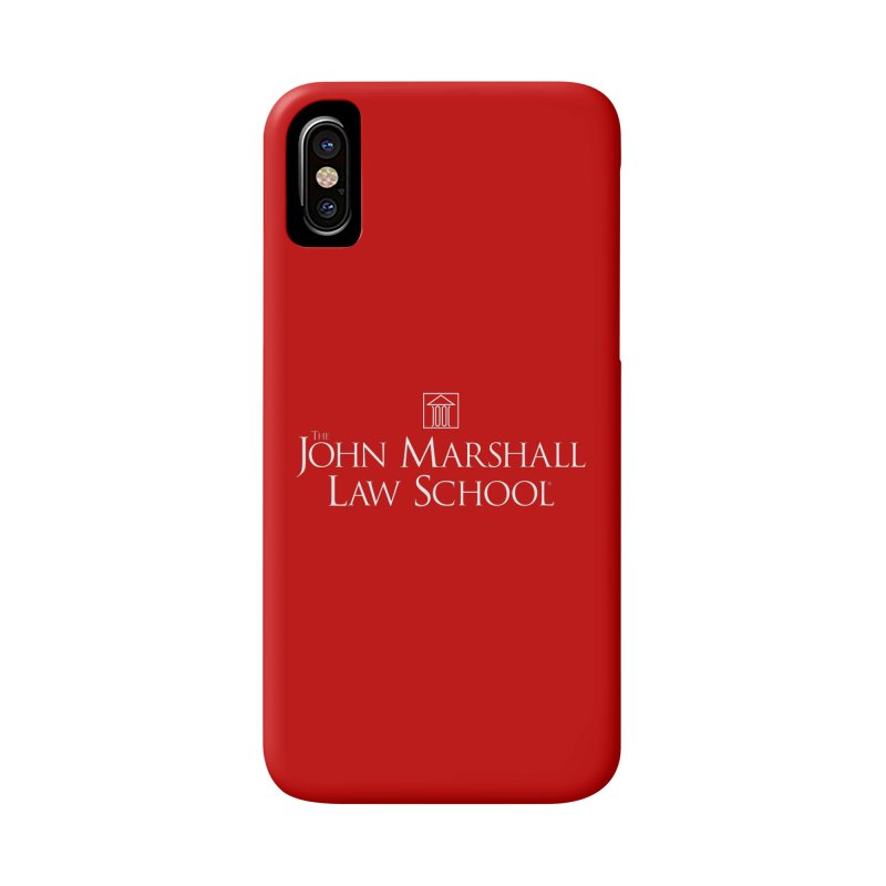 JMLS Logo Accessories Phone Case by John Marshall Law School