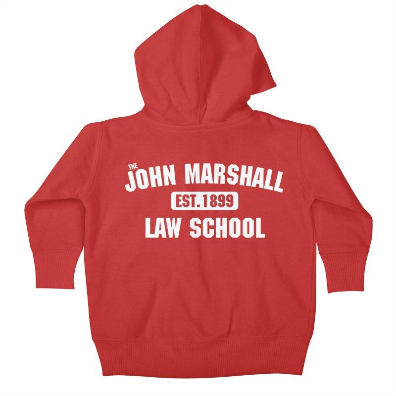 John Marshall Law School - Established 1899 Kids Baby Zip-Up Hoody by John Marshall Law School