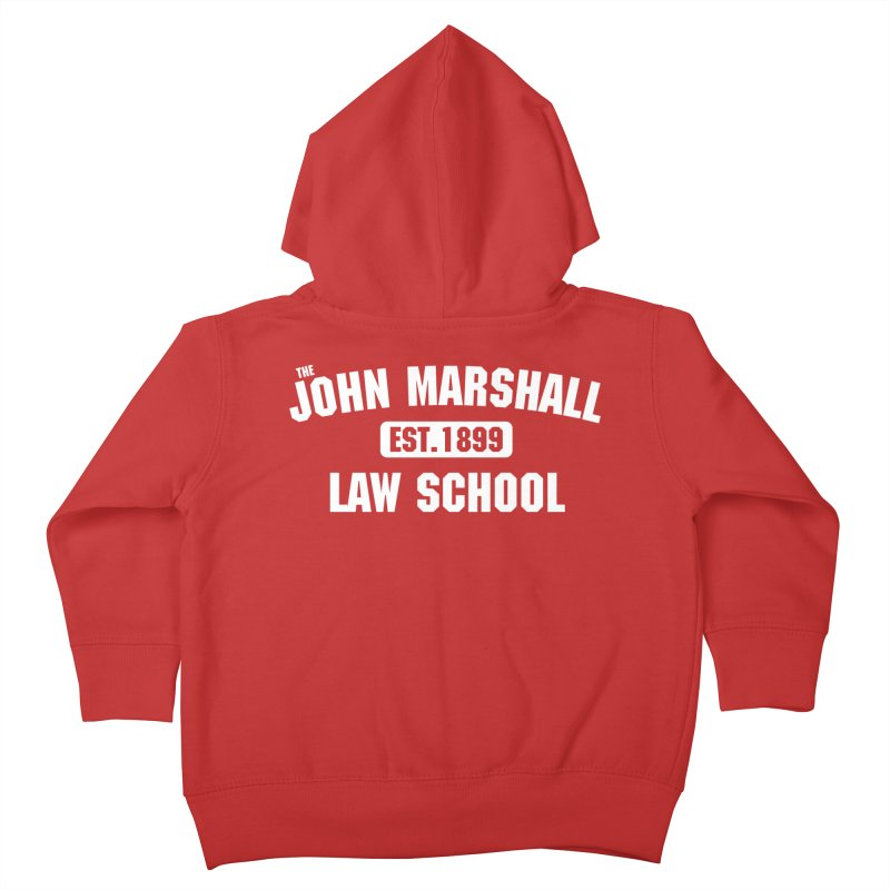 John Marshall Law School - Established 1899 Kids Toddler Zip-Up Hoody by John Marshall Law School