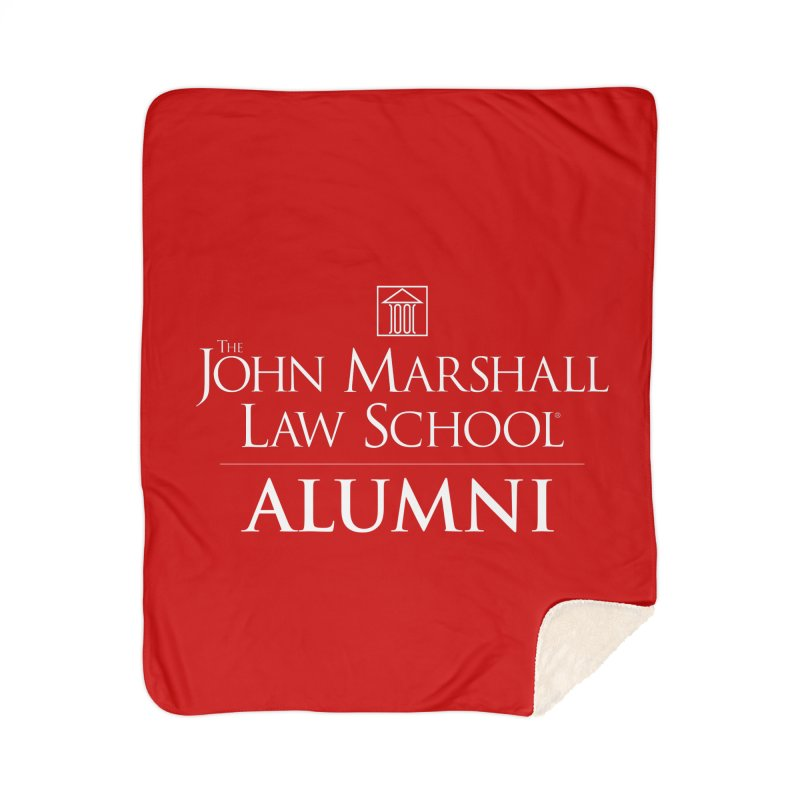 JMLS Alumni Home Sherpa Blanket Blanket by John Marshall Law School