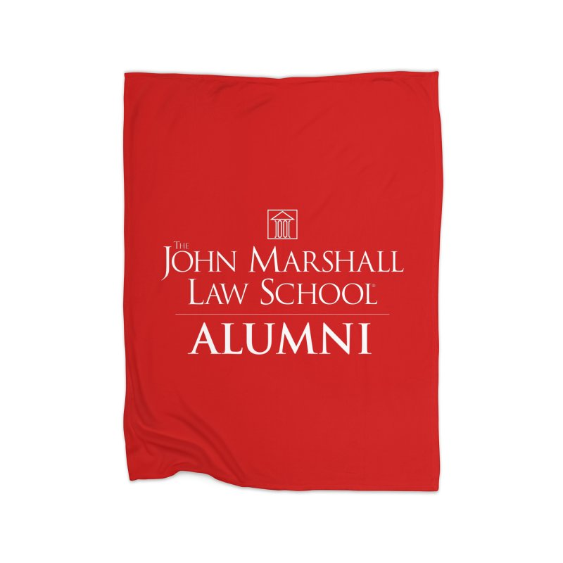 JMLS Alumni Home Fleece Blanket Blanket by John Marshall Law School