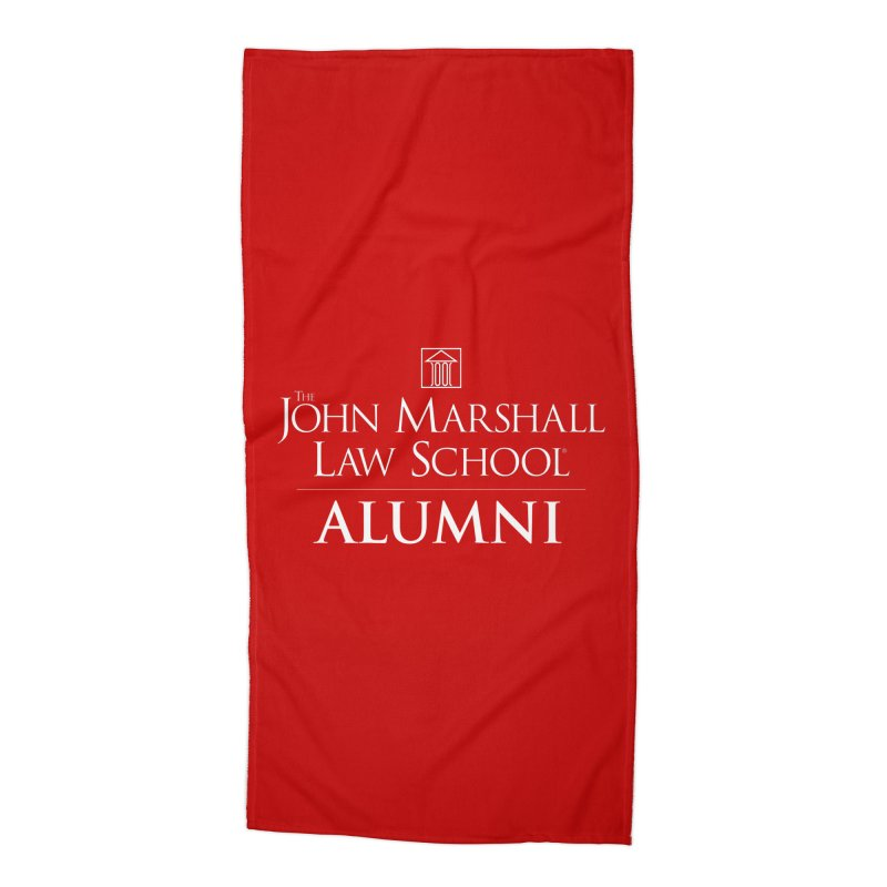 JMLS Alumni Accessories Beach Towel by John Marshall Law School