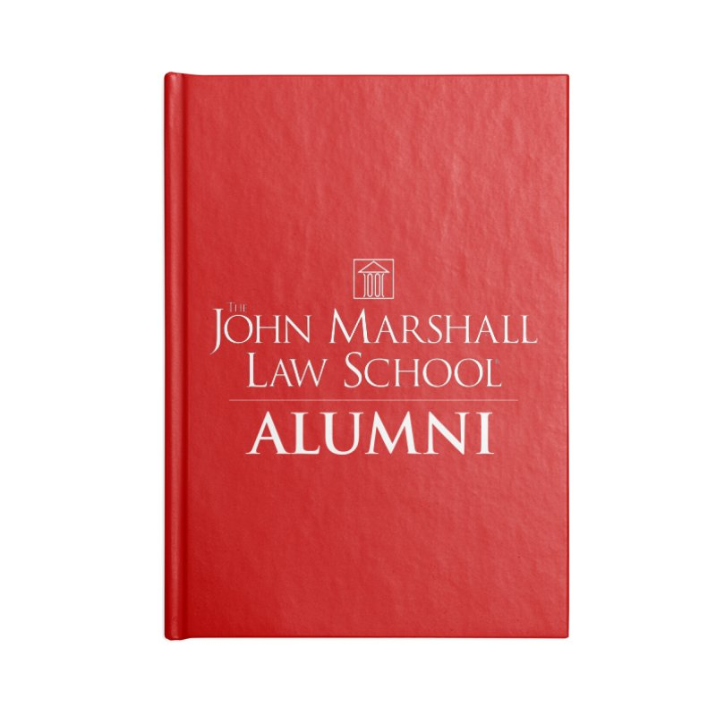 JMLS Alumni Accessories Lined Journal Notebook by John Marshall Law School