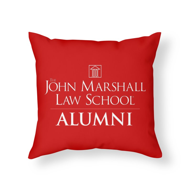 JMLS Alumni Home Throw Pillow by John Marshall Law School