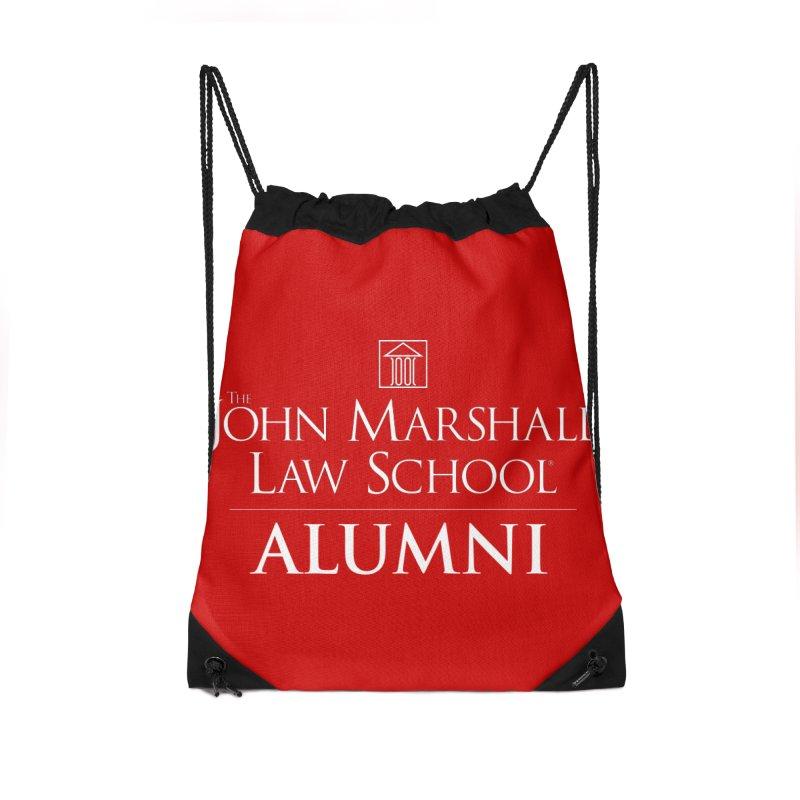 JMLS Alumni Accessories Drawstring Bag Bag by John Marshall Law School