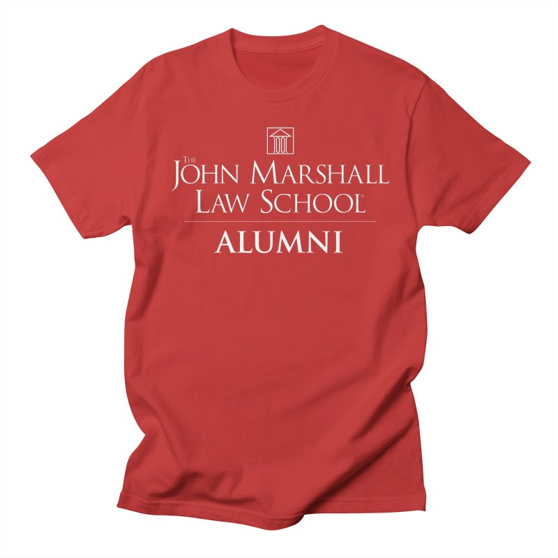 JMLS Alumni in Men's T-Shirt Red by John Marshall Law School