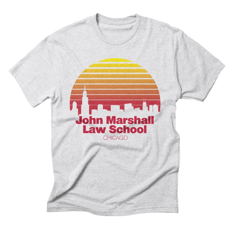 80's Retro Inspired JMLS Men's Triblend T-Shirt by John Marshall Law School