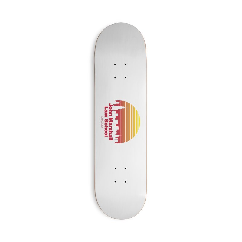 80's Retro Inspired JMLS Accessories Deck Only Skateboard by John Marshall Law School