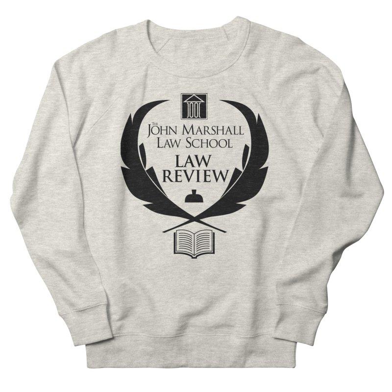 JMLS Law Review in Men's French Terry Sweatshirt Heather Oatmeal by John Marshall Law School