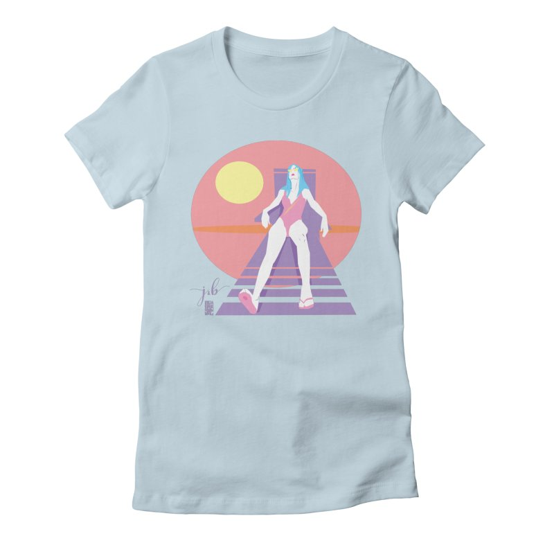 SPF 50 by Jo & Britt + Mike McDonnell Art Women's T-Shirt by Jo & Britt's Shop