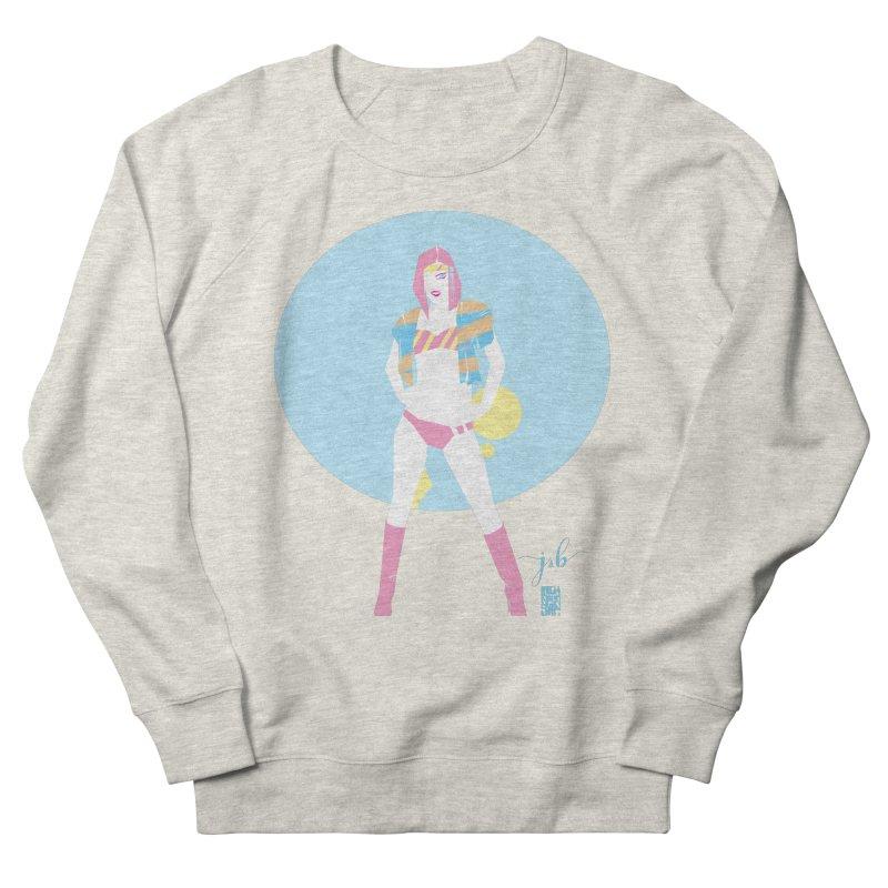 Retro Flex by Jo & Britt + Mike McDonnell Art Women's Sweatshirt by Jo & Britt's Shop
