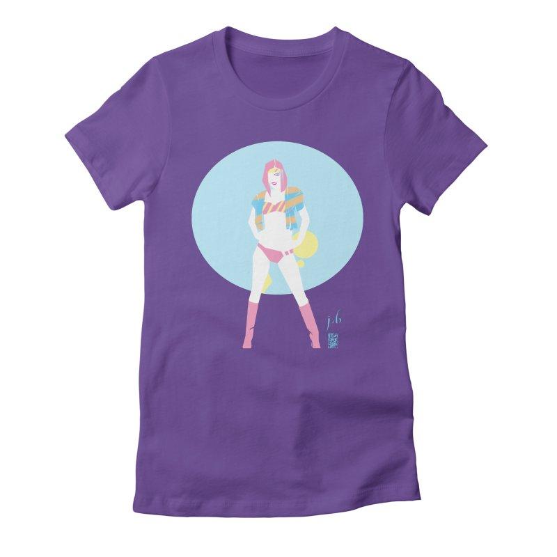 Retro Flex by Jo & Britt + Mike McDonnell Art Women's T-Shirt by Jo & Britt's Shop