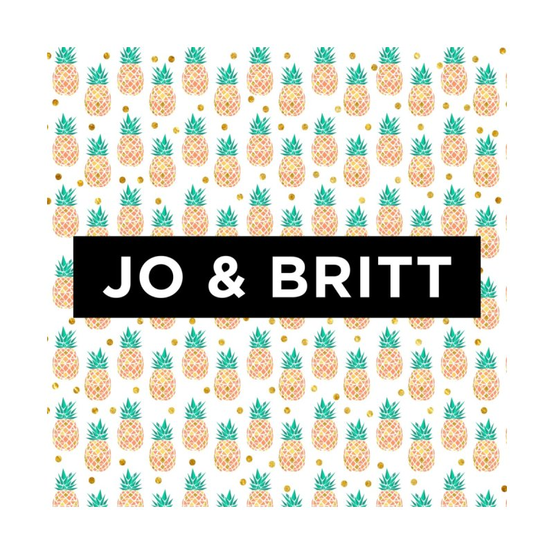 Forever Summer - Gold Pineapple by Jo & Britt's Shop