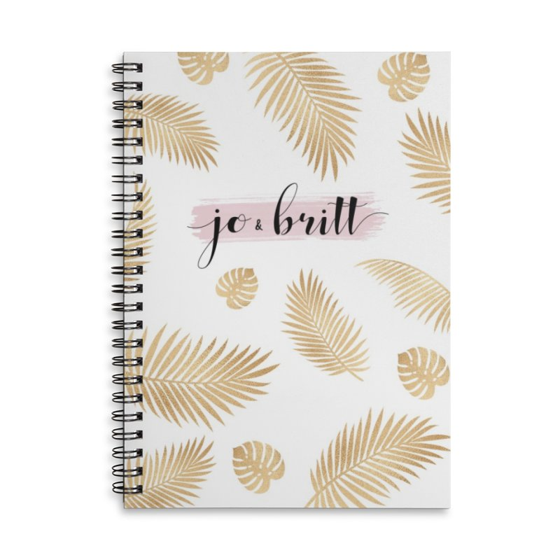 Jo & Britt Signature Notebook Accessories Notebook by Jo & Britt's Shop