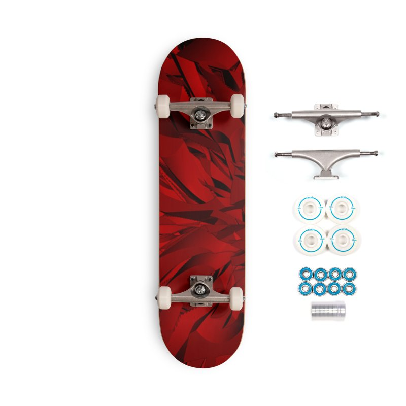 Canyon Red Accessories Skateboard by Joan Ninja Hen's Playground