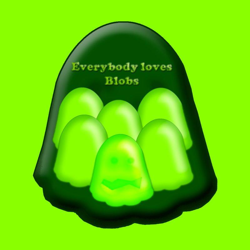 Everybody loves Blobs Accessories Skateboard by Joan Ninja Hen's Playground
