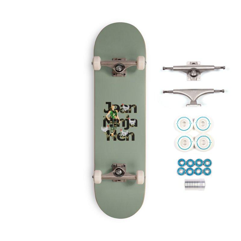 Joan Ninja Hen - Sandale Hero Accessories Skateboard by Joan Ninja Hen's Playground