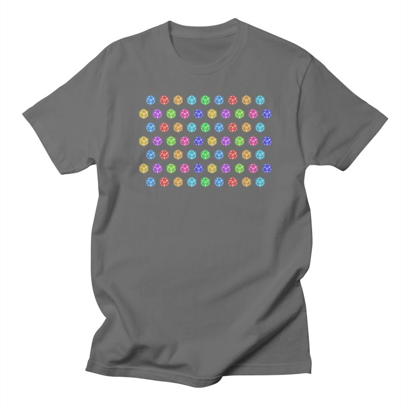 D20 - colorful on white Women's T-Shirt by Joan Ninja Hen's Playground