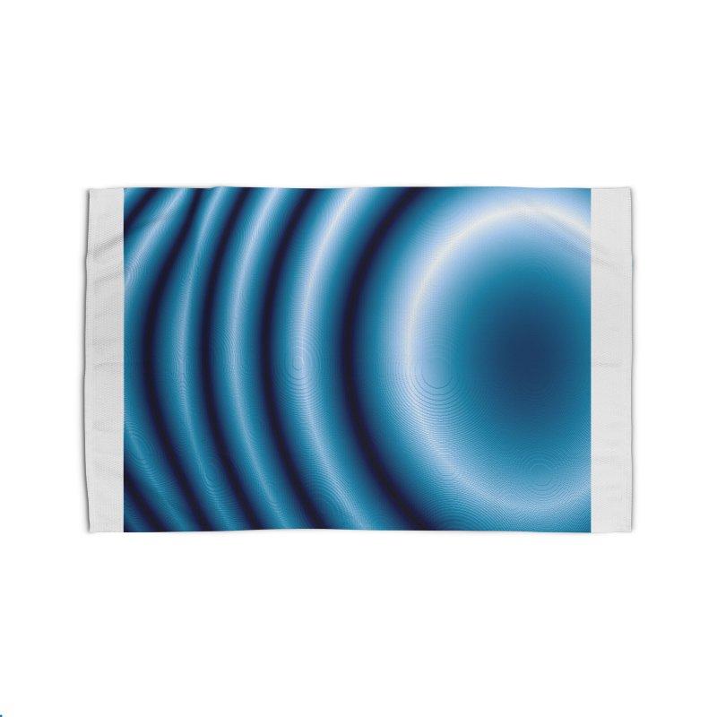 Waves - Blue Home Rug by Joan Ninja Hen's Playground
