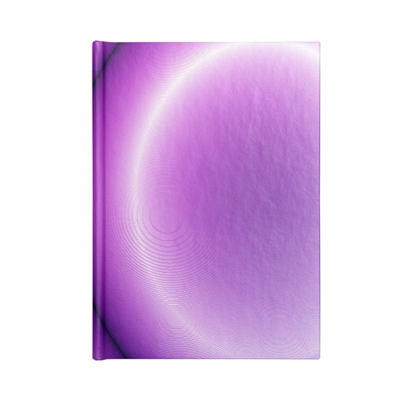 Wave - Violet Accessories Notebook by Joan Ninja Hen's Playground